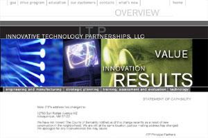 Innovative Technology Partnerships New Mexico web site