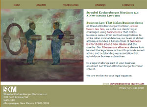 Streubel Law attorney page sample